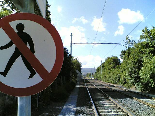 The Luas Tracks